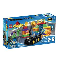LEGO DUPLO Super Heroes The Joker Challenge 10544 Building Toy *** Be sure to check out this awesome product. (This is an affiliate link)