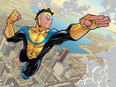 #Invincible #Ryan Ottley #Robert Kirkman -- I'm in love with this series... Ryan Ottley for the win :D