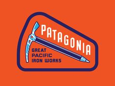 Patagonia Ice Axe by Neil Hubert #Design Popular #Dribbble #shots