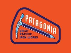 Patagonia Ice Axe by Neil Hubert #Design Popular #Dribbble #shots