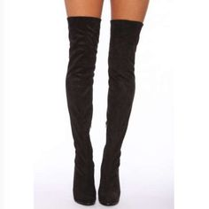 Image result for Jeffrey Campbell maven thigh high boots