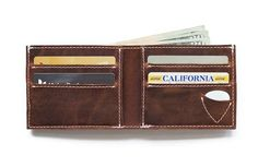 The Arizona Arena Bifold Picker's Wallet Holds Guitar Access #wearable #music trendhunter.com