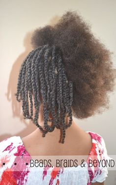 Beads, Braids and Beyond: Little Girls Natural Twist Out - Step-by-step Instructions