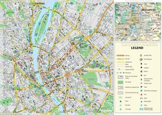 Budapest maps - Top tourist attractions - Free, printable city ...