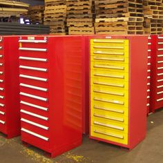 Used Vidmar Cabinets Tool Storage, Locker Storage, Used Cabinets, Filing Cabinet, Lockers, Tools, Furniture, Home Decor, Instruments