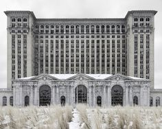 Detroit: I went to this building, I believe it's the old central station.