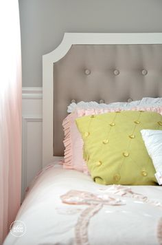 DIY-Tufted-headboard how-to at @Amy Huntley (TheIdeaRoom.net)