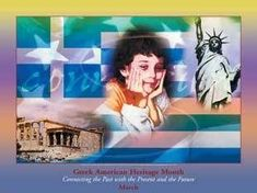 Greek American Heritage Month Poster Product: Size by European American, Heritage Month, Greek, Culture, Pets, Poster, Bookmarks, Magnets, Buttons