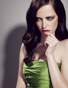 "Eva Green. First time I saw her was in ""The Dreamers"". Couldn't keep my eyes off of her. Must've been love."