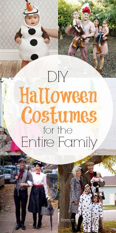 DIY Halloween Costumes for the Entire Family
