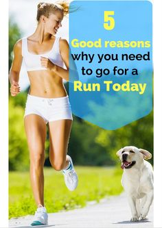 5 Good Reasons Why You Need To Go For A Run Today Beauty Care, Beauty Skin, Beauty Hacks, Eating Healthy, Healthy Food, Fitness Fashion, Women's Fashion, Run Today, Body Motivation