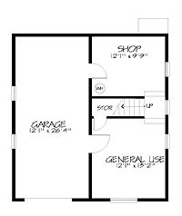 Floor Plans AFLFPW71574 - 2 Story Chalet Home with 3 Bedrooms, 2 Bathrooms and 1,614 total Square Feet