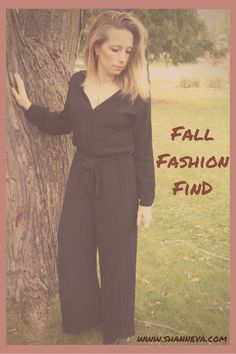 Fall Fashion Find H&M Jumpsuit, plus accessories- Shann Eva's Blog