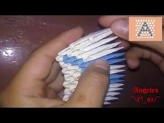 """Origami Letra """"A"""" (Tutorial) Origami 3d, Free Pattern, Diy Crafts, Patterns, Youtube, 3d Letters, Hipster Stuff, Objects, Manualidades"""