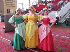 Bimbettes from Beauty & The Beast - no tutorial, but easy group costume