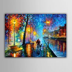 ksc I do love this, but I wish when people add a TARDIS to a Leonid Afremov painting, they would give credit to the artist also.The original artwork is called Misty Mood by Leonid Afremov :) ♥♥ Art Abstrait, Fine Art, Palette Knife, Palette Art, Oil Painting On Canvas, Painting Art, Knife Painting, Painting Wallpaper, Umbrella Painting