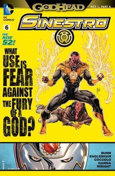 Sinestro (2014-) #6 (October 2014)