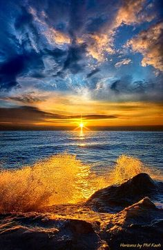 ☼ golden sunset