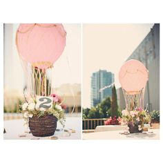 Hot Air Balloon Party and Decor Ideas