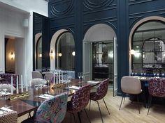 Les plus beaux restaurants deco a Paris : Le Bachaumont par Dorothée Meilichzon