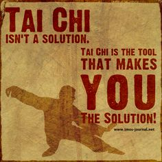 Practice Qigong & Tai Chi - find solutions within! Tai Chi Chuan, Tai Chi Qigong, Kung Fu, Aikido, Pranayama, Learn Tai Chi, Thai Chi, Meditation, Chinese Martial Arts