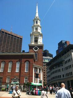 Park Street Church in Boston, MA