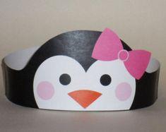 Penguin Crown Printable by PutACrownOnIt on Etsy