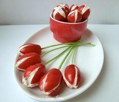 Pomodori datterini ripieni | Ricetta finger food