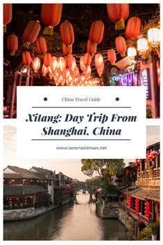 Xitang: Day Trip From Shanghai, China. Ever wondered where Mission Impossible was filmed in China? This is the place!
