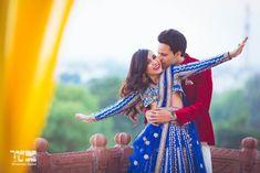 This cute & bubbly bride's wedding in Laxmi Niwas Palace, Bikaner has the most adorable wedding pict Pre Wedding Shoot Ideas, Pre Wedding Poses, Pre Wedding Photoshoot, Wedding Inspiration, Wedding Blog, Wedding Photography Tips, Photography Poses For Men, Indian Wedding Couple, Wedding Couples