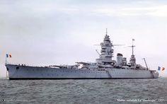 French Battleship Dunkerque