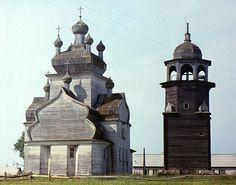 Church of the Transfiguration - Turchasovo (Posad)1786 - Onega region - Arkhangelsk Oblast
