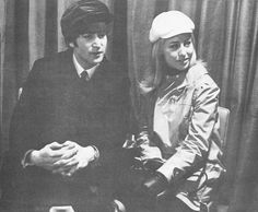 John and Cynthia Lennon en route to US for first time