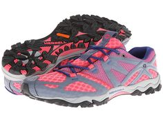 Merrell Grassbow Air Pink/Grey - Zappos.com Free Shipping BOTH Ways