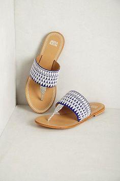Needlework Sandals by Jasper & Jeera