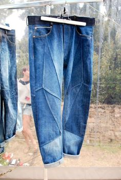 Джинсы из кусков / Переделка джинсов / Своими руками - выкройки, переделка одежды, декор интерьера своими руками - от ВТОРАЯ УЛИЦА