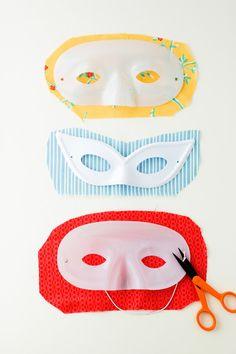 flax & twine: F&T DIY: Costume Masquerade Mask Upgrade