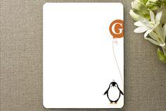 Penguin stationary