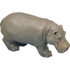 Amazon.com: Sandicast Small Size Hippopotamus Sculpture: Home & Kitchen
