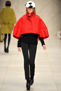 Burberry Prorsum Fall 2011 Ready-to-Wear Fashion Show - Lisanne De Jong