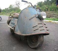 Kroboth Motorroller - My Ideas & Suggestions Vintage Bikes, Vintage Motorcycles, Vintage Cars, Triumph Motorcycles, Cars And Motorcycles, Motor Scooters, Vespa Scooters, Scooter Custom, Custom Bikes