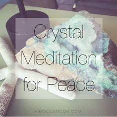 Won't you join me in a Crystal Meditation for Peace? In these current times of conflict & apparent separation.here it is…just for you. Watch the video so you can see the special little setup I…