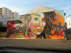 Stunning work in France by world renowned artist C215 #c215 #streetart #france #urbanart #art