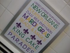 Mardi Gras Printable by LolasLaboratory on Etsy, $3.00