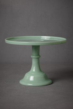 Jadeite Cake Stand in SHOP Décor For the Table at BHLDN