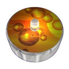 Orange Party Dot Design 015