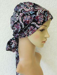 Women's head snood, bad hair day scarf, chemo head wear, elegant tichel, chemo cap, surgical cap, viscose headscarf by accessoriesbyrita on Etsy