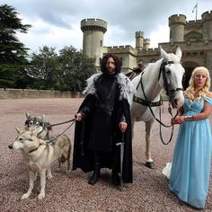 "This Couple Had A ""Game Of Thrones""-Themed Wedding"