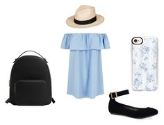 """Light Blue Outfit #3"" by allaboutgirls17 ❤ liked on Polyvore featuring Roxy, Bamboo, MANGO and Casetify"