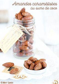 Alter Gusto | Amandes caramélisées au sucre decoco (cuisson au four) -